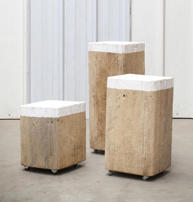 Set van 3 tafeltjes Bireem